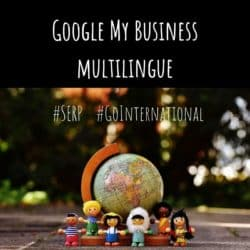 Google My Business Multilingue